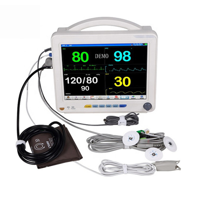 12.1 inch Multi-parameter ambulance Equipments CE FDA Approved Patient Monitor Price