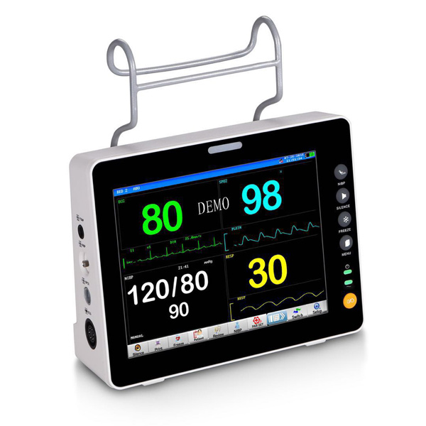 High quality portable multiparameter patient monitor price